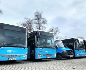 Harjumaa lõunasuuna uued Iveco ja Mercedese bussid
